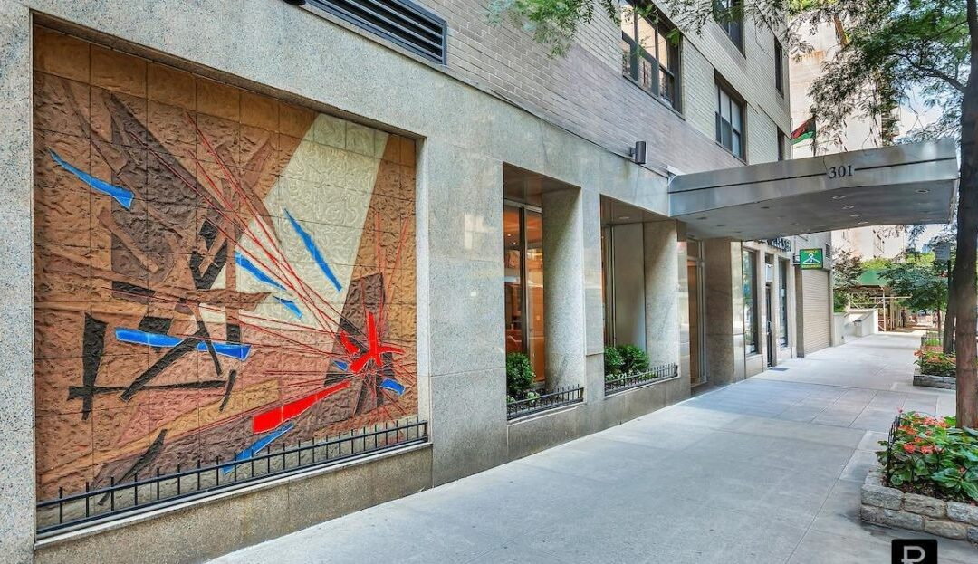 $1,315,000 – 301 East 48th St, Apt 14E (Studio) & 14F (2 Bedroom) Converted 2 Bedroom + Studio