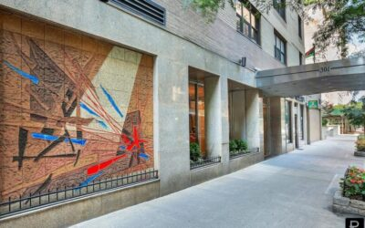 $1,315,000 – 301 East 48th St, Apt 14E (Studio) & 14F (2 Bedroom) Converted 2 Bedroom + Studio